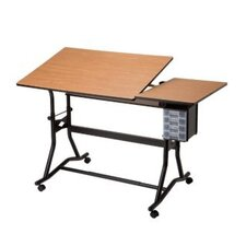 <strong>Alvin and Co.</strong> Craftmaster III Split Melamine Drafting Table