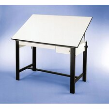DesignMaster Melamine Drafting Table