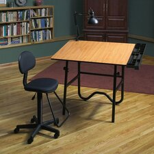Creative Wood Drafting Table System