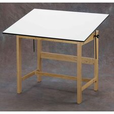 <strong>Alvin and Co.</strong> Titan Melamine Drafting Table with Drawer