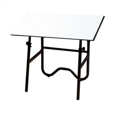 <strong>Alvin and Co.</strong> Onyx Melamine Drafting Table