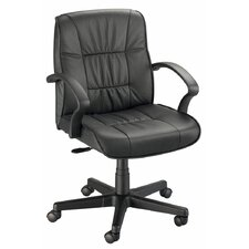 Backrest Leather Executive Office Chair