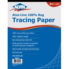 Vellum Tracing Paper (Set of 50)