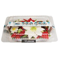 Irene's Garden O Poinsettias Flower Box (Set of 12)