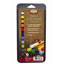 Artist Soft Pastels Set (Set of 12)