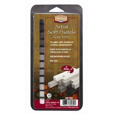 Graytone Soft Pastels Set (Set of 12)