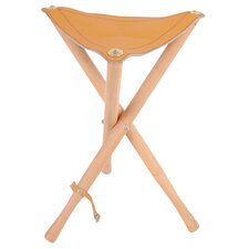 <strong>Alvin and Co.</strong> Heritage Leather Seat Stool