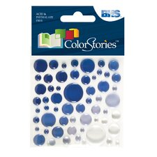 <strong>Alvin and Co.</strong> Colorstories Epoxy Color Spots Stickers