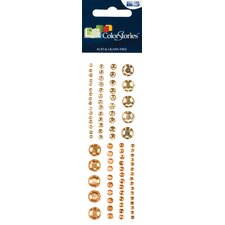 Colorstories Selfadhesive Gems (Set of 88)