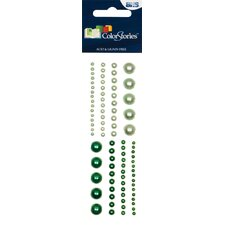Colorstories Selfadhesive Pearls (Set of 88)