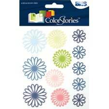 <strong>Alvin and Co.</strong> Colorstories Open Daisy Gelstix (Set of 12)