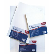 <strong>Alvin and Co.</strong> Quadrille Paper Grid Pad (Set of 100)