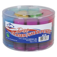 Twin Eraser/Sharpener Assortment Display