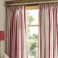 Cecile Lined Pencil Pleat Curtains