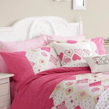 Lottie 180 Thread Count Housewife Pillowcase in Raspberry