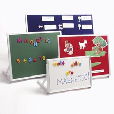 <strong>Best-Rite®</strong> Magnetic Marker/Chalkboard Language Easel