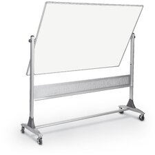 Platinum Reversible 4' H x 6' L Whiteboard and Bulletin Board