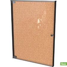 Ultra Enclosed Bulletin Board Cabinet