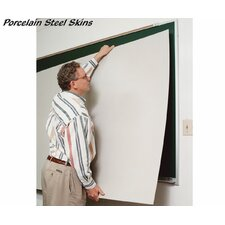Porcelain Steel Self-Adhesive Skins - Markerboard 47 ¼ inches x 90 ¼ inches