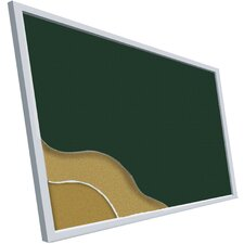 <strong>Best-Rite®</strong> Fabric Covered Cork-Plate Tackboards