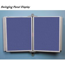 Full View Swinging Panels w/ White Matboard
