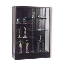 Series 93 Elite Freestanding Display Case - Without Cornice and Light