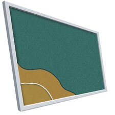 Cut Edged Vinyl Covered Add-Cork (unframed)