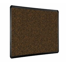 <strong>Best-Rite®</strong> Black Splash-Cork Tackboard with Presidential Trim