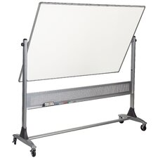 Platinum Reversible Dura-Rite 4' H x 6' L Whiteboard