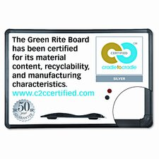 Best-Rite® Green Rite Dry Erase 2' x 3' Whiteboard