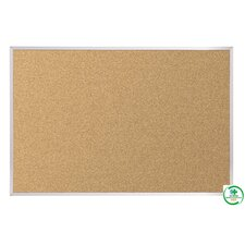 Natural Cork -  Plate Tackboard Series 716 (Framed)