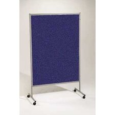 "Portable Art Royal Hook and Loop 6'6"" H x 4'2"" L Bulletin Board"