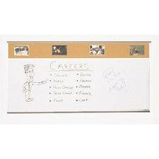 Combo-Rite Porcelain/Cork Modular Type C Whiteboard