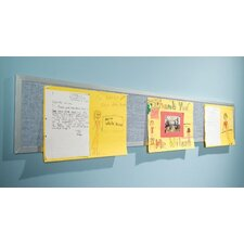 Tackboard Display Pacific Blue Panel Bulletin Board