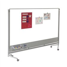 D.O.C. Partition Dura-Rite 6' x 6' Whiteboard
