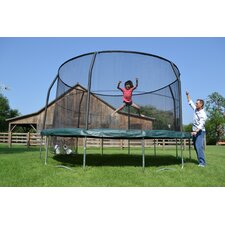 <strong>Jumpking</strong> JumpPOD 14' Trampoline with Enclosure