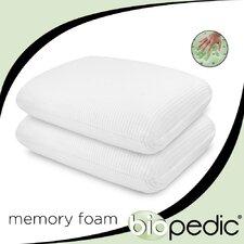 Memory Foam Comfort Pillow (Set of 2)