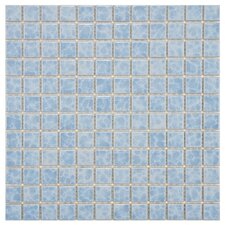 "<strong>EliteTile</strong> Pool 12"" x 12"" Porcelain Mosaic in Alboran"