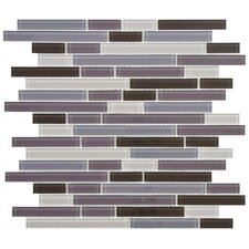 Ambit Random Sized Glass Mosaic Tile in Reglia
