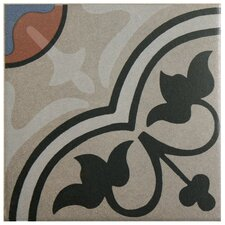 "Cementa 7"" x 7"" Ceramic Glazed Tile in And Centro"