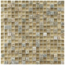 """Sierra 5/8"""" x 5/8"""" Glass and Stone Polished Mosaic in Suffolk"""