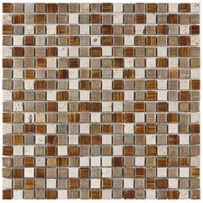 "<strong>EliteTile</strong> Isle 11-3/4"" x 11-3/4"" Porcelain Mosaic Wall Tile in Avalonia"