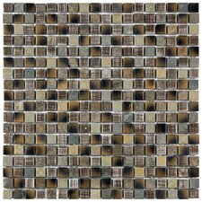 "Isle 5/8"" x 5/8"" Porcelain Glazed Mosaic in Laurentia"