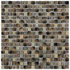 "Isle 5/8"" x 5/8"" Porcelain Mosaic Wall Tile in Laurentia"