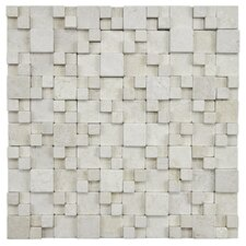"Grizelda 12"" x 12"" Natural Stone Mosaic in Kimpi"