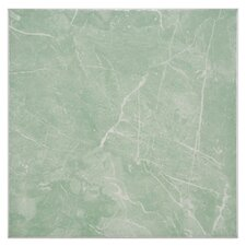 "Mesa 12"" x 12"" Ceramic Floor and Wall Tile in Olive"