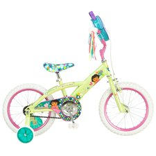<strong>Dora</strong> Girl's Dora Bike with Training Wheels