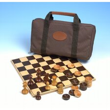 Travel Chess and Checkers Bag