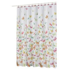 <strong>Carnation Home Fashions</strong> Shannon Polyester Shower Curtain