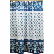 South Beach Polyester Shower Curtain